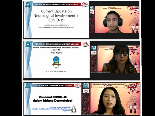 Fakultas Kedokteran UHN Medan Sukses Laksanakan Pertemuan Ilmiah Nommensen Medika Nasional I (PINMAS 2020)